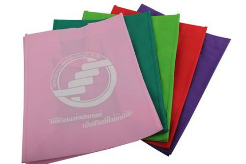 ของพรีเมี่ยม,ถุงผ้าสปันบอน 100 แกรม ขนาดกว้าง 12 นิ้ว สูง 14 นิ้ว