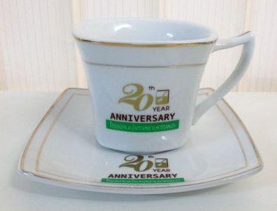 ชุดกาแฟพร้อมจานรอง,ของพรีเมี่ยม,ของที่ระลึก,ของขวัญปีใหม่,ของที่ระลึกเกษียณอายุราชการ,ของที่ระลึกงานศพ ของขวัญแจกพนักงาน