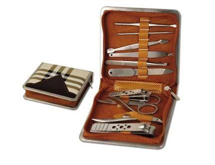 ,ชุดกรรไกรตัดเล็บ, Gift Set 10 in 1  ชุดเครื่องมือทำเล็บ 10 ชิ้น