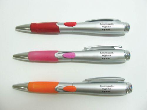 ปากกา สกรีนโลโก้สั่งทำตามแบบ คุณภาพดี เพื่อเป็นของพรีเมี่ยม