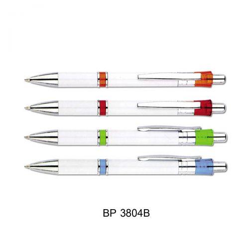 ปากกาพลาสติก ปากกาลูกลื่น หมึกน้ำเงิน