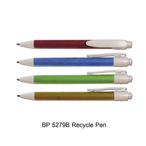 ปากการีไซเคิล ปากกาหมึกน้ำเงิน