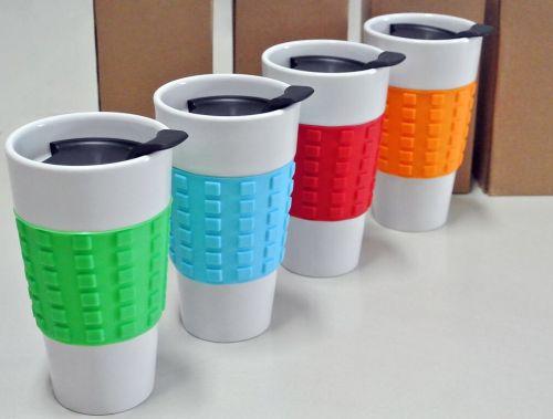 แก้วกาแฟ Stoneware ยางจับ