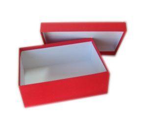 กล่องกระดาษฝาครอบ