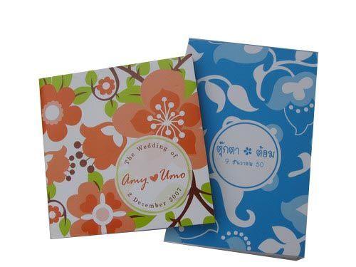 กระดาษโน๊ต,กระดาษก้อน,ของที่ระลึกงานแต่งงาน,ของขวัญวันแต่งงาน,ของชำร่วยงานแต่งงาน