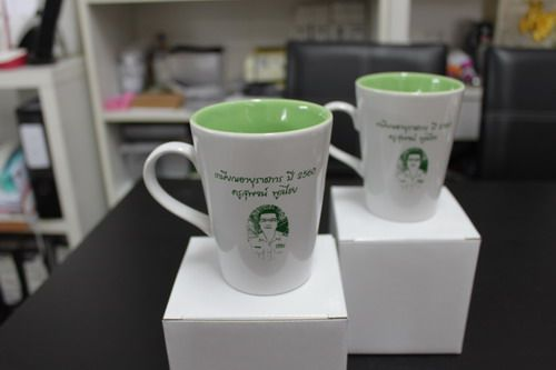 แก้วเซรามิคทูโทน,ของพรีเมี่ยม,ของที่ระลึก,ของขวัญปีใหม่,ของที่ระลึกเกษียณอายุราชการ,ของที่ระลึกงานศพ ของขวัญแจกพนักงาน