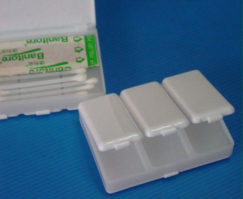 กล่องใส่ยา 4 ช่อง สีขาว.ของพรีเมี่ยม,ของที่ระลึก,ของขวัญปีใหม่