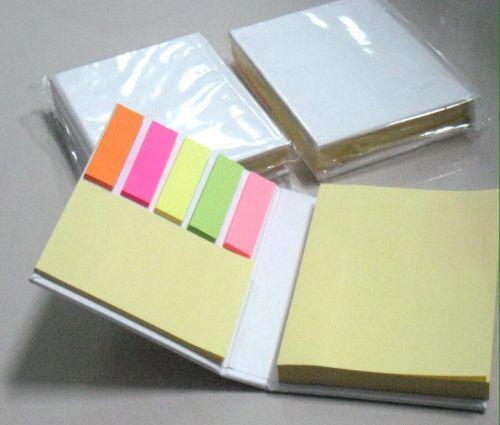 กล่องกระดาษโน้ต ปกกระดาษจัวปังสีขาว ขนาด 7 x 10.5 x 2 ซม. กระดาษ 100 แผ่นพรีเมี่ยม,ของพรีเมี่ยม