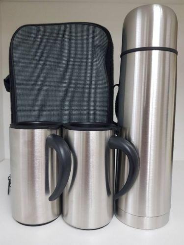 เซ็ตกระบอกน้ำ และแก้วสเตนเลส2ใบ พร้อมกระเป๋า ,กระบอกน้ําสแตนเลส เก็บร้อน-เย็,,กระบอกน้ำ ของพรีเมี่ยม,ของขวัญปีใหม่,ของที่ระลึก