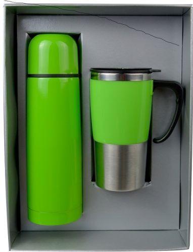 ชุดกิฟท์เซ็ต,แก้วน้ำกระบอกน้ำ,ของขวัญปีใหม่,ชุดกิฟท์เซ็ตสีเขียว