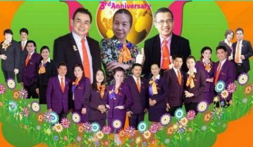 นักธุรกิจเครือข่ายเยสไอแคน คอเปอร์เรชั่นประเทศไทยจำกัด