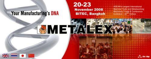 ประมวลภาพ งาน thailand metalex on nov 2008