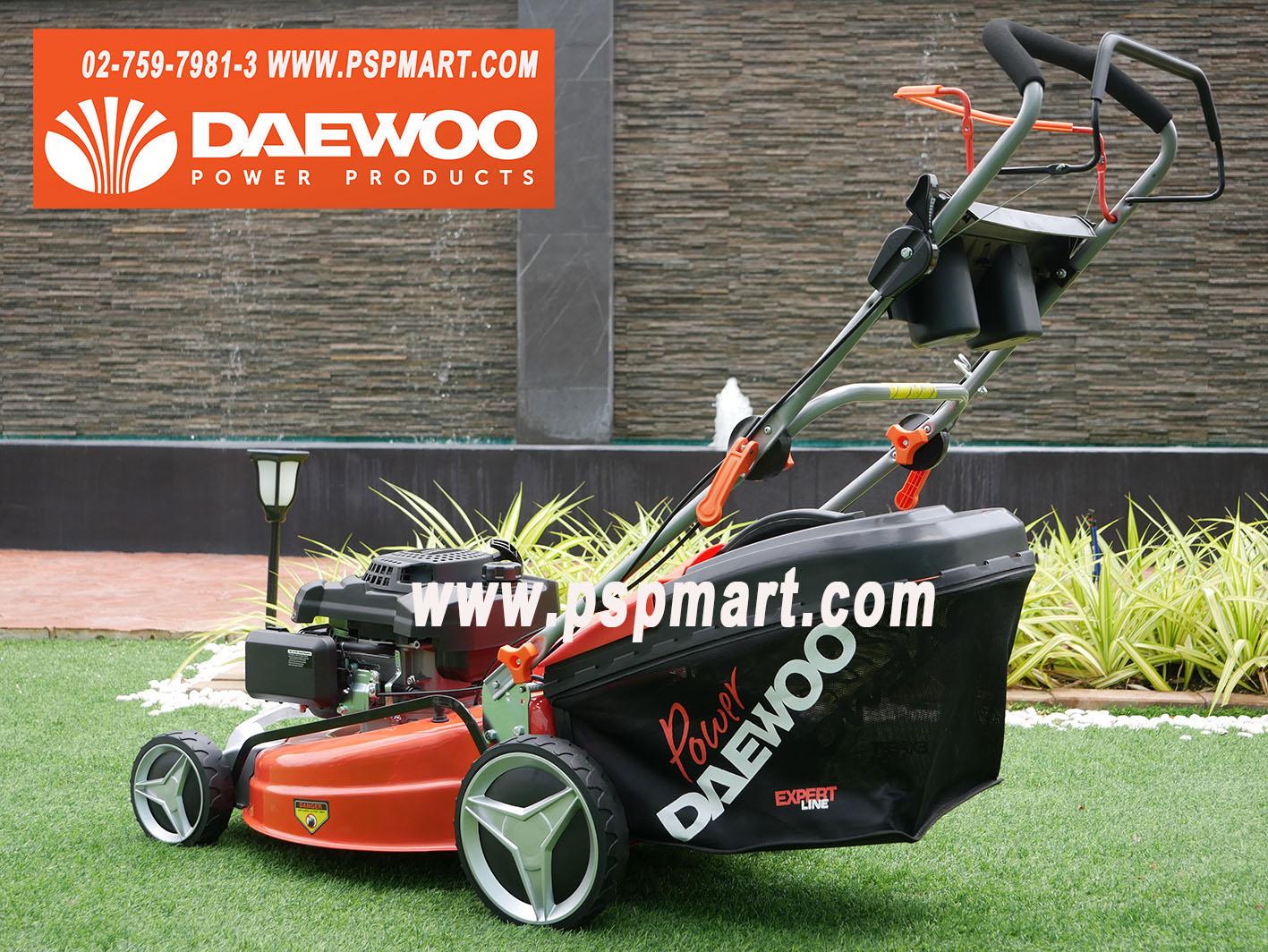 DAEWOO DLM5300SPรถเข็นตัดหญ้าเครื่องยนต์เบนซิน4จังหวะ