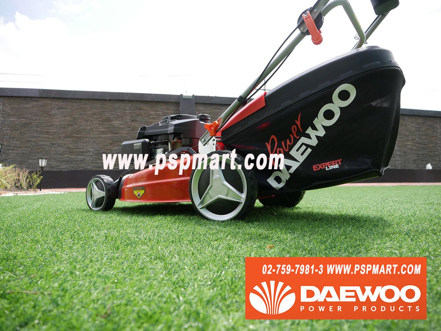 รถเข็นตัดหญ้าเครื่องยนต์เบนซิน4จังหวะ  DAEWOO DLM5300SP
