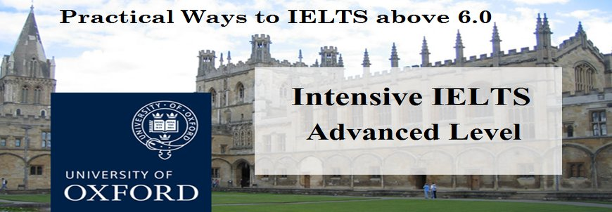 Intensive IELTS Advanced Level