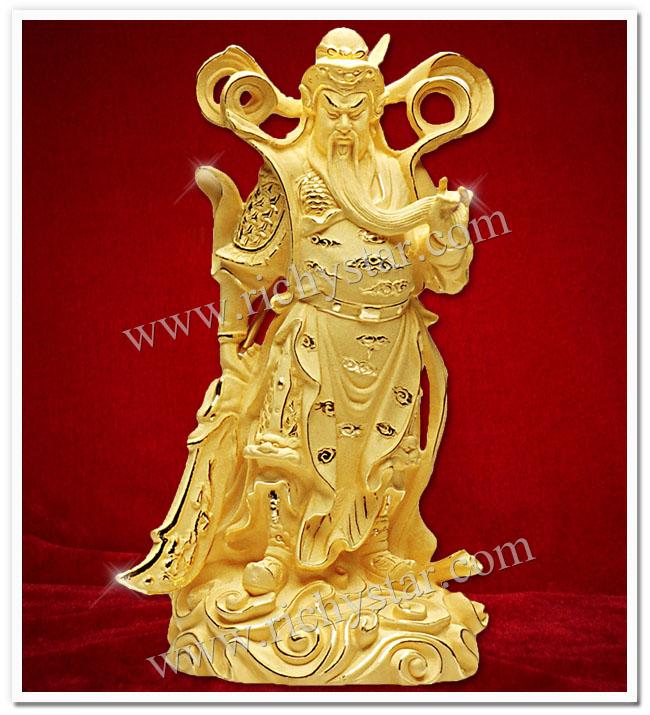 เทพเจ้ากวนอู กวนอู เทพเจ้าจีน กวนอูยืนถือง้าว เทพเจ้ากวนอูปางต่างๆ เทพเจ้ากวนอูปางยืนถือง้าว เทพเจ้ากวนอูปางสั่งการ เสริมปีชง