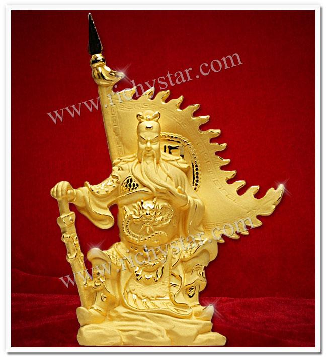 เทพเจ้ากวนอู กวนอู กวนอูนั่งบัลลังก์ เทพเจ้าจีน เทพเจ้ากวนอูปางนั่งบัลลังก์ เทพเจ้ากวนอูปางนั่งบัญชาการ เทพเจ้ากวนอูนั่ง