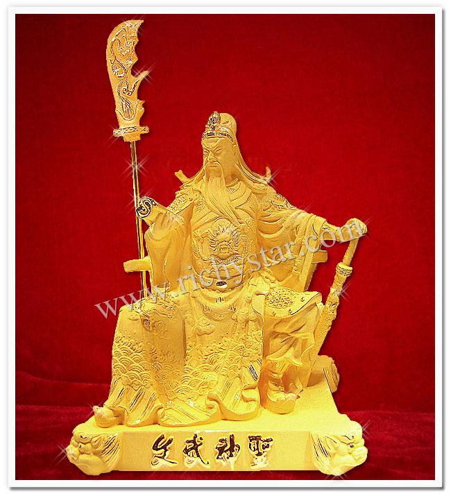 เทพเจ้ากวนอู กวนอู เทพเจ้าจีน เทพเจ้ากวนอูนั่งบัลลังก์ เทพเจ้ากวนอูนั่ง เทพเจ้ากวนอูนั่งอ่านหนังสือ เทพเจ้ากวนอูนั่งอ่านตำรา