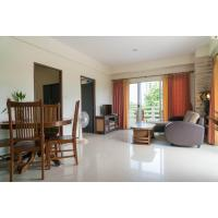 Beautiful 2-bedroom condo for sale at Rayong Condochain on Mae Rumphueng Beach in Thailand. Already renovated and furnished, ready for move-in.