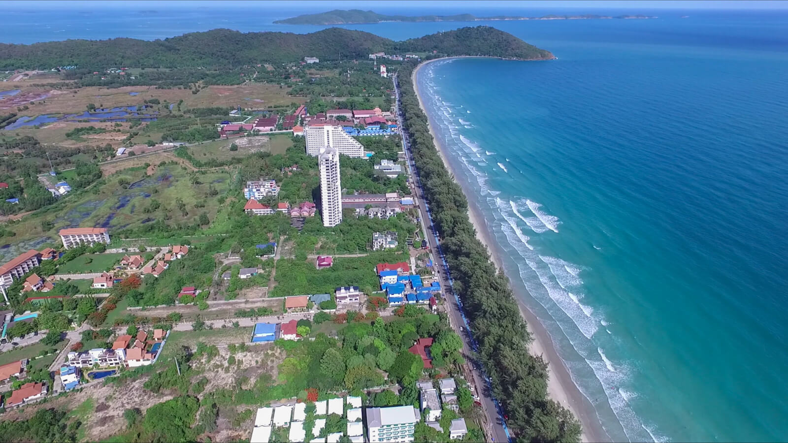 Rayong land for sale on Mae Rumphueng Beach in Thailand