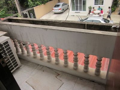 Terrace before Renovation