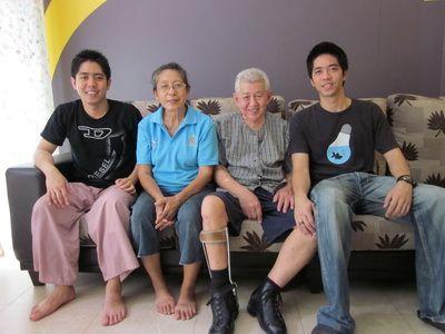 K.Sasipong's Family