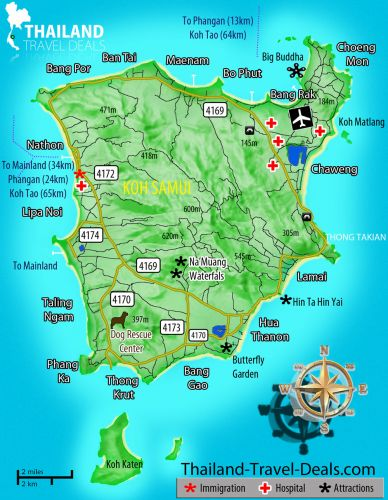 map-koh-samui-Getting-There