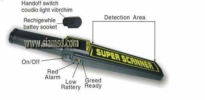 Metal Detector ตรวจสอบโลหะ