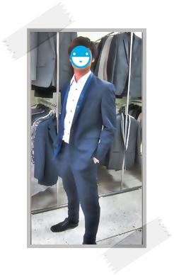 ชุดสูทสี Navy blue สำหรับงานช่วงกลางวัน