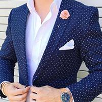 สูทเ navy blue สำหรับใส่แนว mix and match