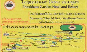 PHOUKHAM GARDEN HOTEL AND RESORT-LAO PDR,Hotel and Resort in Xieng Khouang Province,LAO Biz DIRECTORY,Business directory,ASEAN BUSINESS DIRECTORY,WWW.ASEANBIZDIRECTORY.COM