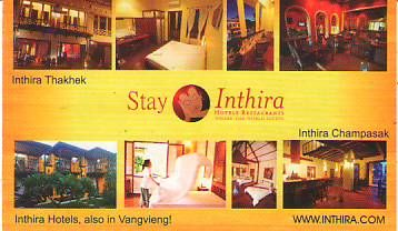 INTHIRA HOTELS RESTAURANTS-LAO PDR,HOTELS RESTAURANTS,Vang Vieng District, Vientiane Province,LAO Business directory