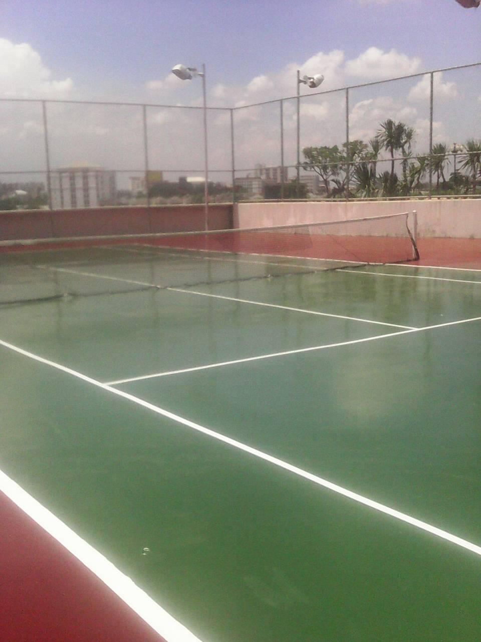 SPORT FLOORING   สนามกีฬากลางแจ้ง ระบบ POLYURETHANE , ในร่มระบบ ACRYLIC COATING