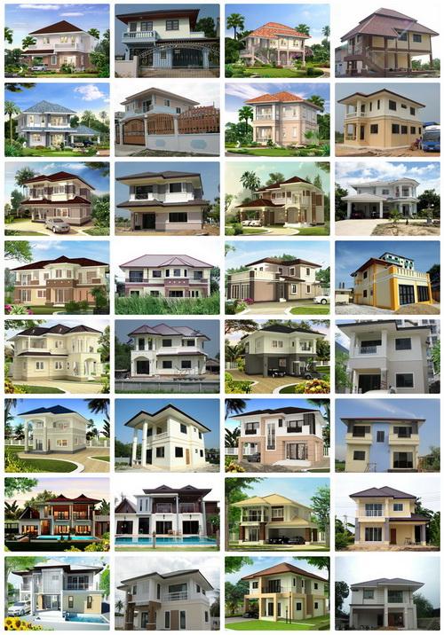 รับสร้างบ้านแบบบ้านชั้นเดียว