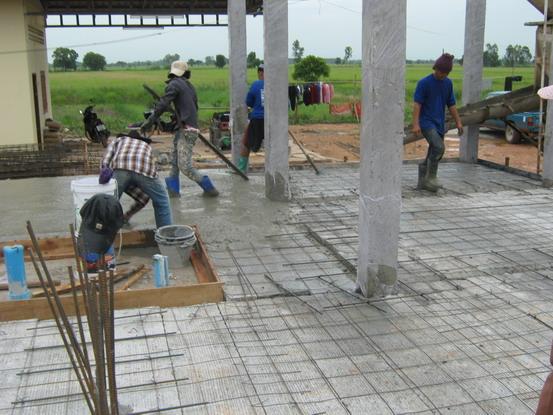 วิธีทำโครงสร้างพื้น