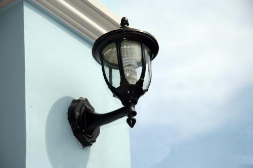 โคมไฟหัวเสาสร้างบ้าน