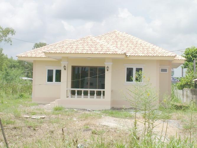 รับสร้างบ้านชั้นเดียว รับออกแบบบ้านชั้นเดียว