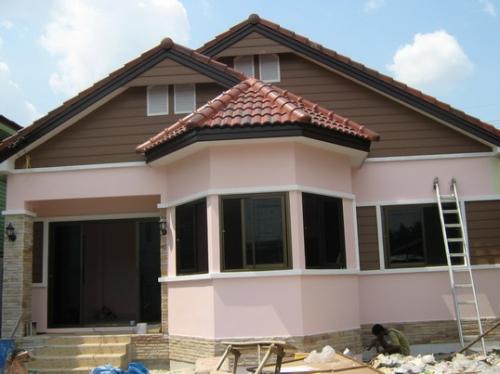 รับสร้างบ้าน  แบบบ้านชั้นเดียว
