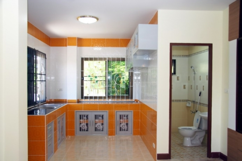 ออกแบบตบแต่งห้องครัว