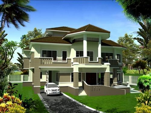 รับสร้างบ้านหลังใหญ่