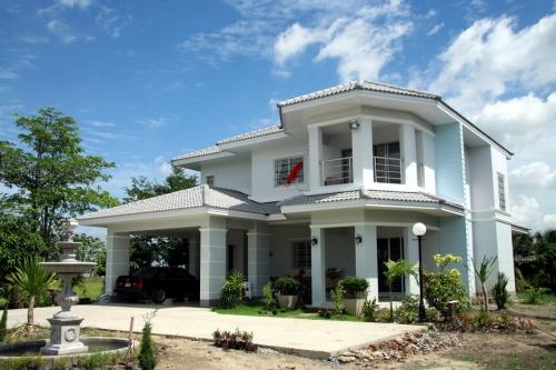 แบบบ้านสวยสองชั้น