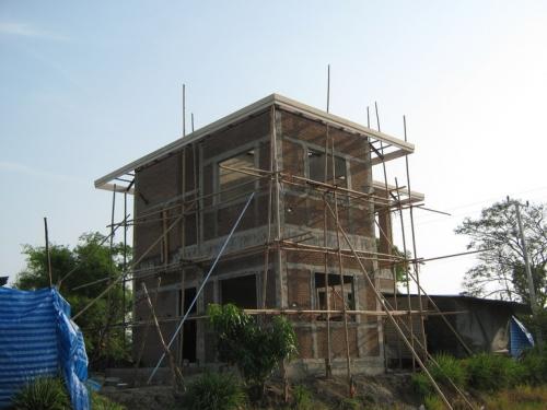 สร้างบ้านสองชั้น