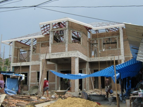 ผลงานรับสร้างบ้าน