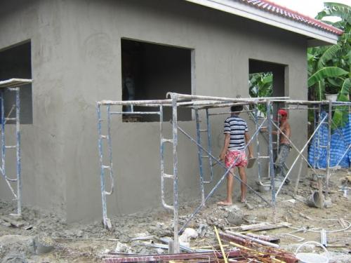 วิธีการฉาบปูน สร้างบ้าน