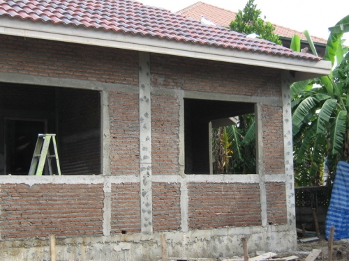งานก่อ สร้างบ้าน