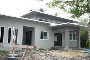 สร้างบ้านไม่บาน