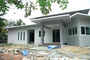 รับสร้างบ้านโมเดลถูก