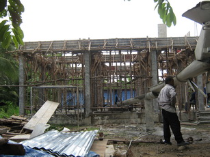 ก่อสร้างอาคาร
