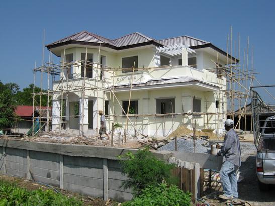 รับสร้างบ้าน บ้านเดียว