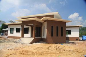 รับออกแบบบ้าน สร้างบ้าน